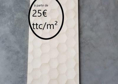 Domo marfil RLY  30×90