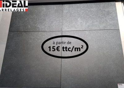 Carrelage PIERRE BLEUE nero 52×52