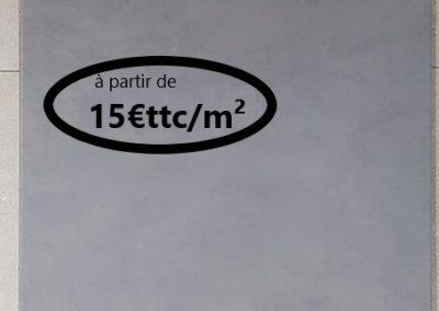 BETON  ANTHRACITE PARFEUILLE 60X60
