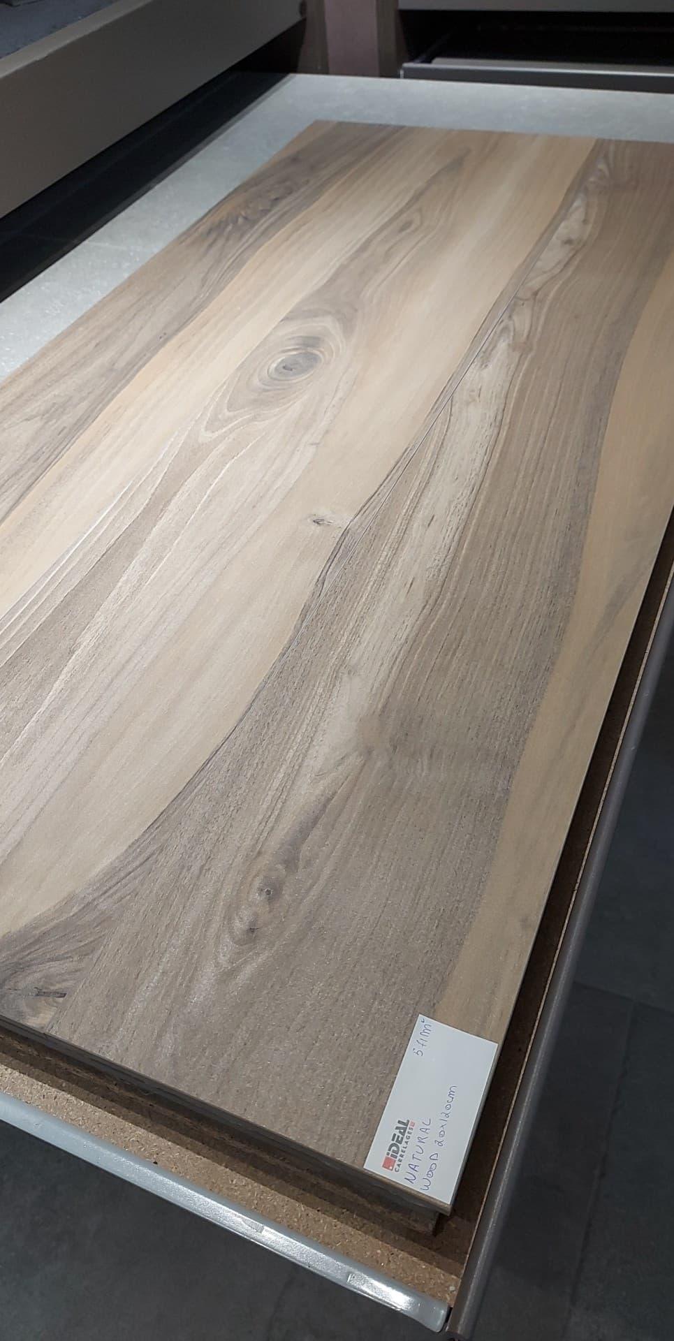 Natural wood 20×120