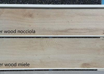 SILVER WOOD NOCCIOLA -MIELE 30X120X20MM